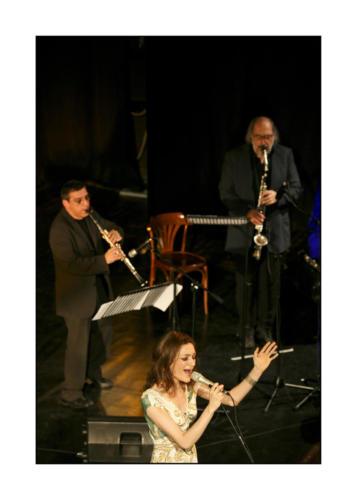 Cristina Zavalloni Sextet with Gianluigi Trovesi - ph Roberto Masotti