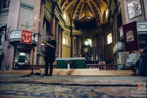 Silke Eberhard- Basilica San Gaudenzio - ph Emanuele Meschini