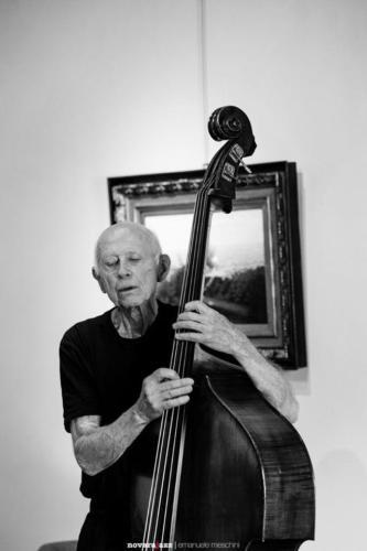Barre Phillips - ph Emanuele Meschini